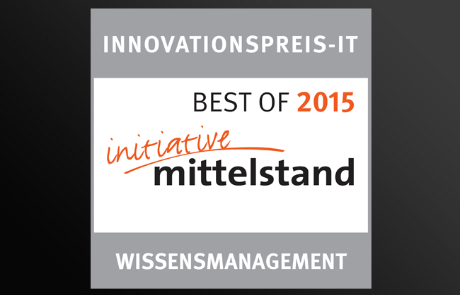 Innovationspreis-IT 'Best of 2015'